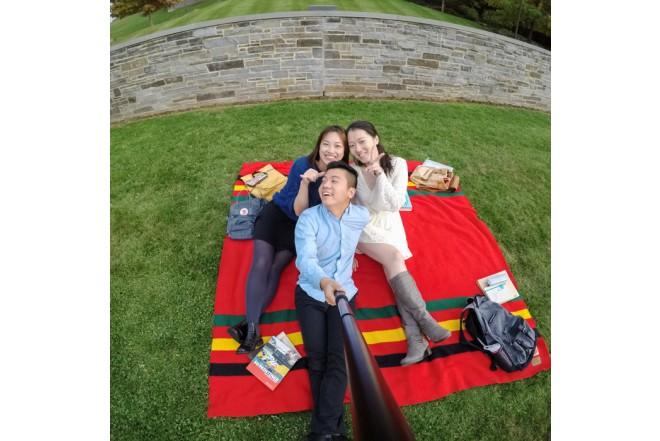 Selfie Stick GoPro Grande Negro
