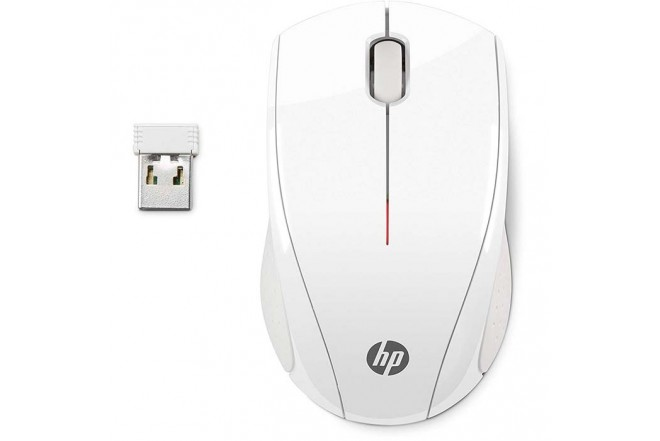 Mouse HP Inalambrico Optico X 3000 Blanco 2