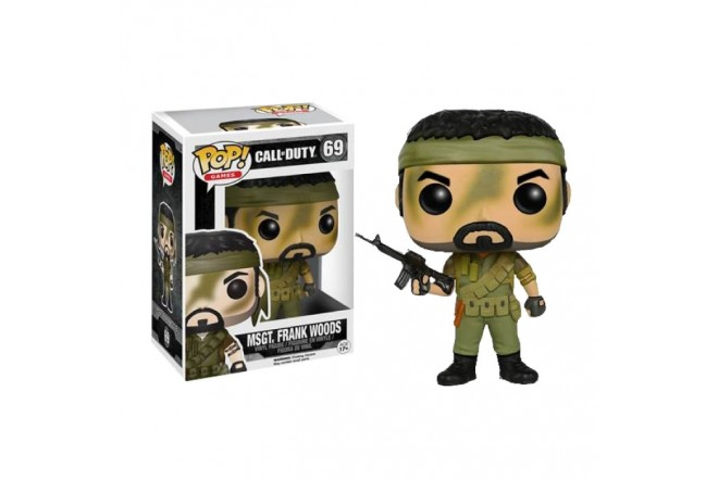 FUNKO POP! Call of Duty Master Sergeant Frank Woods