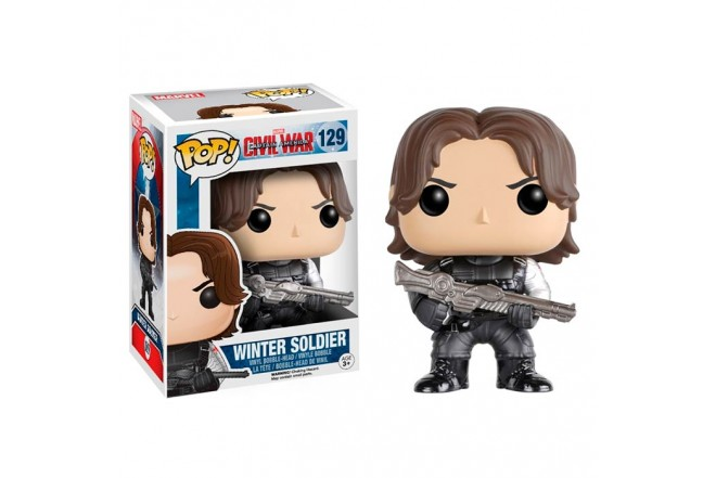 FUNKO POP! Capitán América 3 Winter Soldier