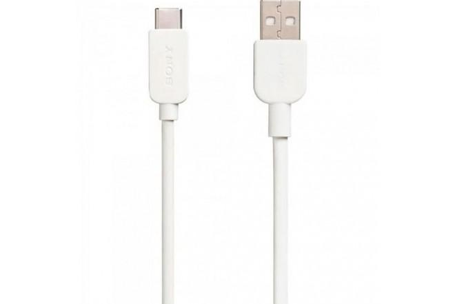 Cable Sony USB/USBC 1Metro Blanco QC