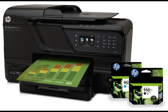 Multifuncional 8600 + Tintas HP