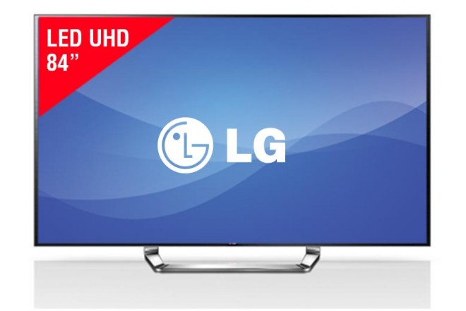 "TV 84"" LED LG 84LA980T UHD Internet 3D"