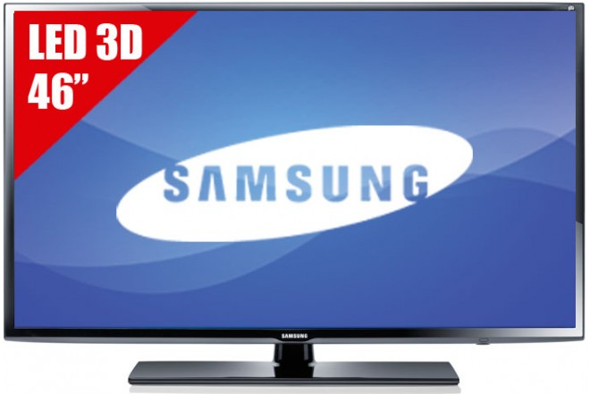 "TV 46"" LED SAMSUNG 46EH6030 FHD 3D"