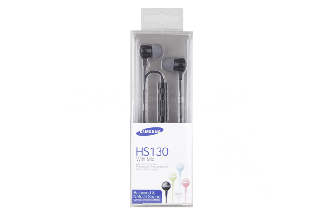Audífono SAMSUNG Alámbrico In Ear ML 3.5 Negro