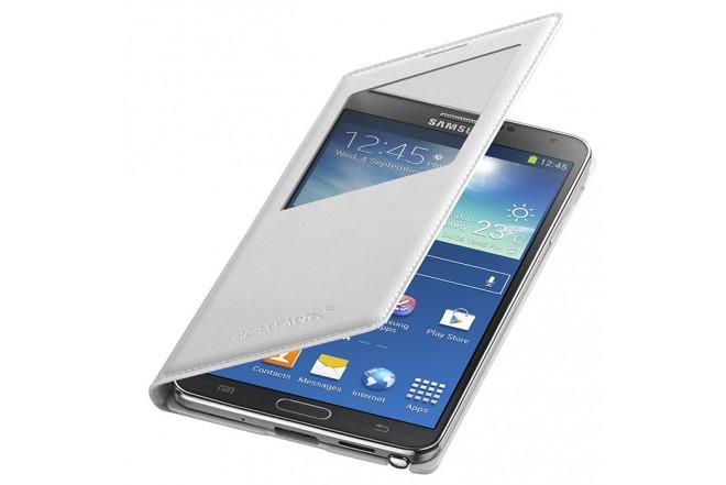 Sview Cover Cuero SAMSUNG para Galaxy Note 3 Blanco