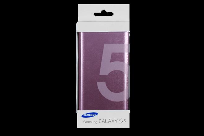 Flip Cover SAMSUNG S5 Rosado