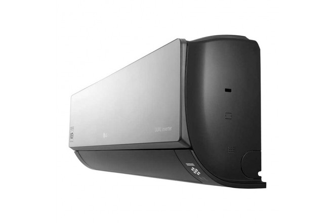 Aire Acondicionado LG Inverter 9000 BTU VR092 220V Negro6