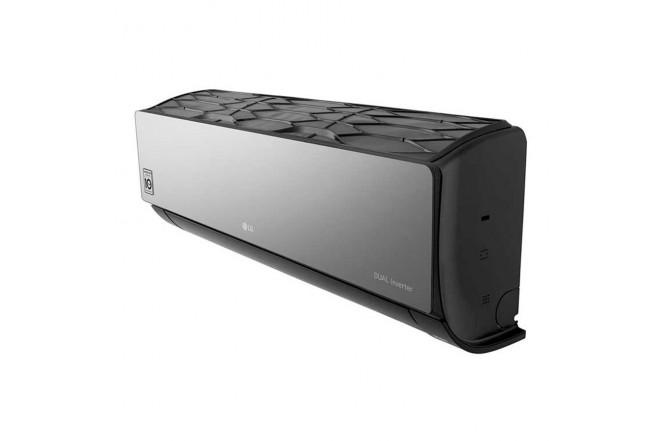 Aire Acondicionado LG Inverter 9000 BTU VR092 220V Negro7