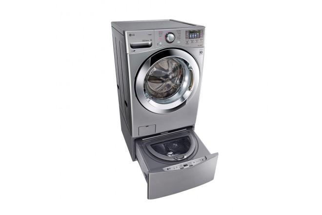 Combo lavadora secadora lg twinwash cf 20 kg wd20vvs6 for Lavadoras pequenas carga frontal