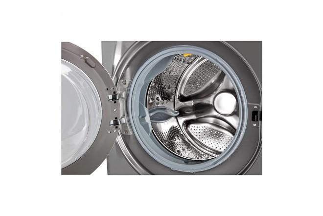Lavadora Carga Frontal 22 Kilos LG Wm22Vv2S6B Gris5