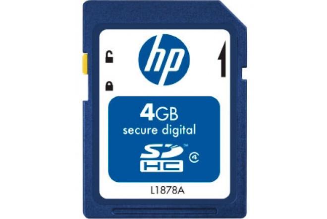 Memoria HP SDHC 4GB