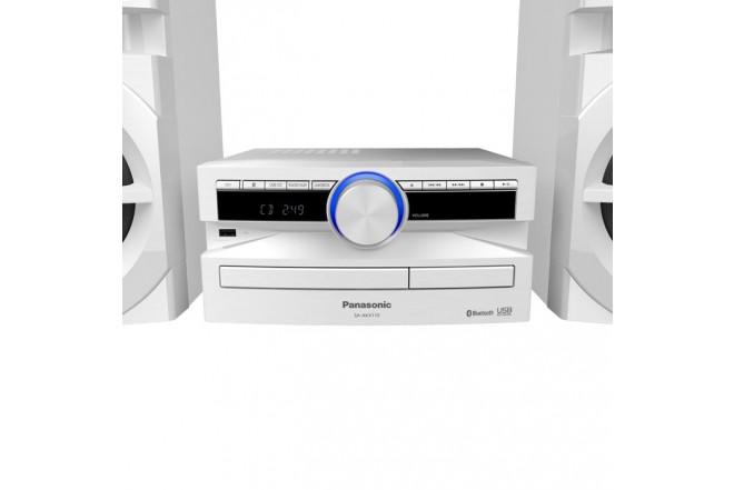Equipo Mini PANASONIC AKX110 300W Blanco