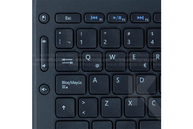 Teclado MICROSOFT Inalámbrico All in One Negro (nombre img)