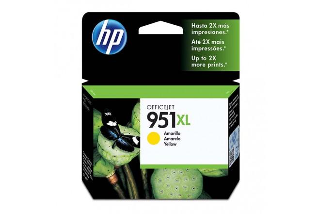 Cartucho de tinta HP 951XL Amarillo Original CN048A