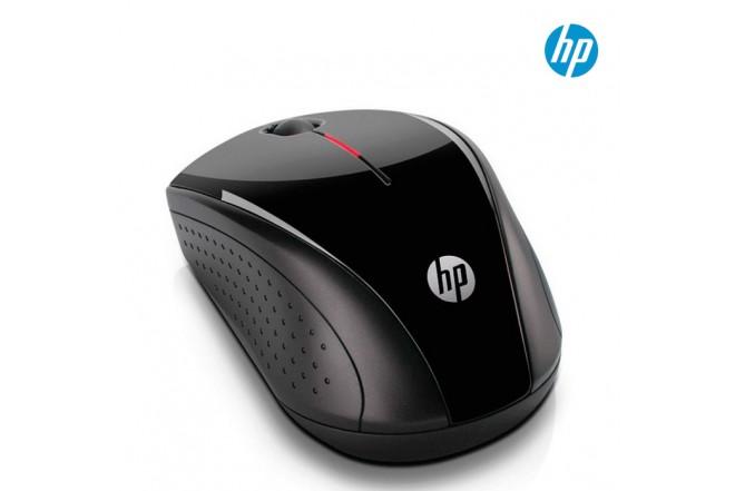 Mouse Inalámbrico HP óptico Negro