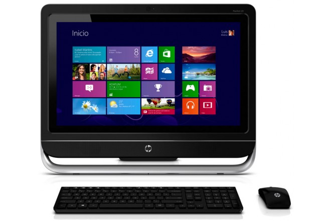 PC All in One HP Touch 23- f291la