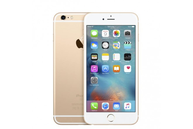 Celular 4G iPhone 6s Plus 128GB Dorado