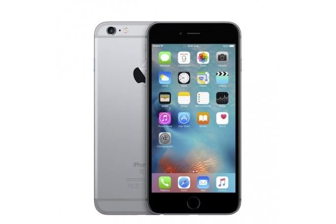 Celular 4G iPhone 6s Plus 128GB Plateado