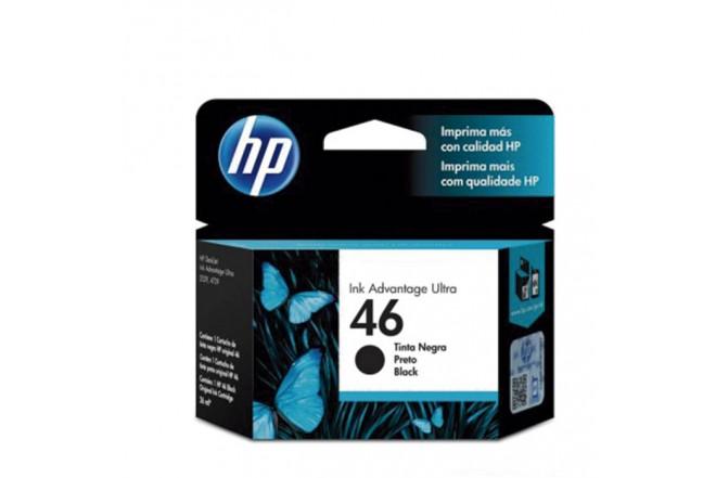 Cartucho de tinta HP 46 negra Original CZ637AL