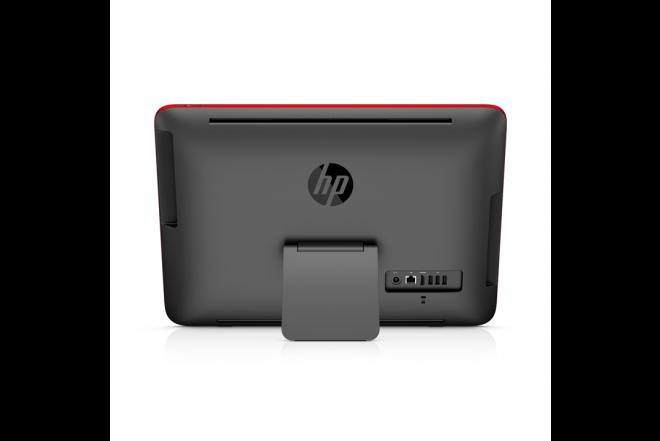 "PC All in One HP 20-R114 19.5"" Celeron® Rojo"