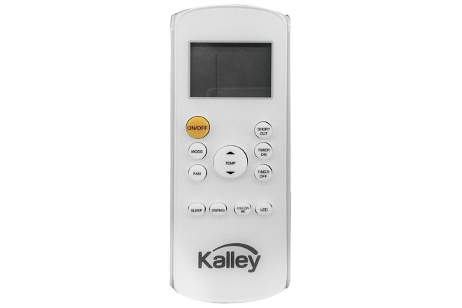 Aire Acondicionado KALLEY Convencional 9000BTU 220V Control