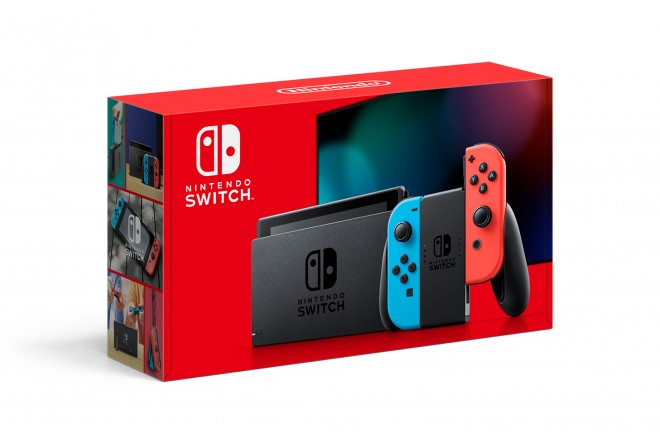 Consola Nintendo Switch con Joy Con Neon/Blue  1