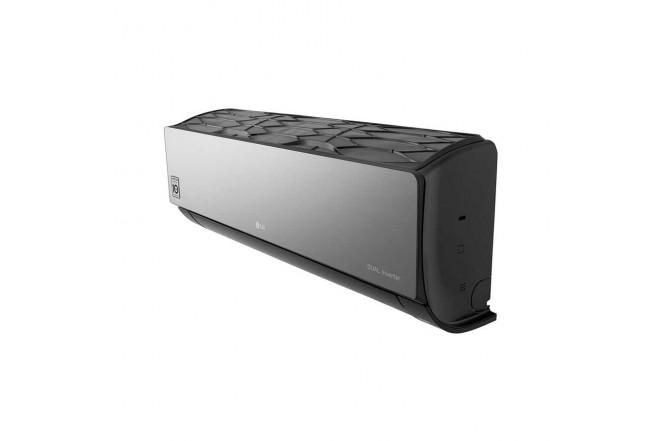 Aire Acondicionado LG Inverter 12000 BTU VR122 220V Negro