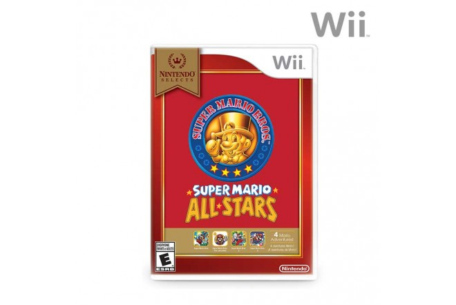 Videojuego Wii Super Mario All-Stars Select