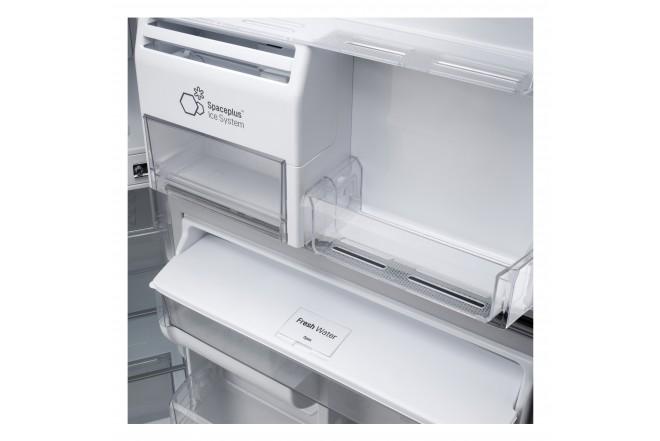Nevera LG 437 LtLT41AGDXTop Freezer Fabricador de Hielo Negro 8