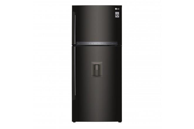 Nevera LG 437 LtLT41AGDXTop Freezer Fabricador de Hielo Negro 9