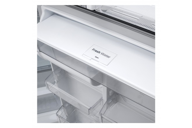 Nevera LG 437 LtLT41AGDXTop Freezer Fabricador de Hielo Negro 17
