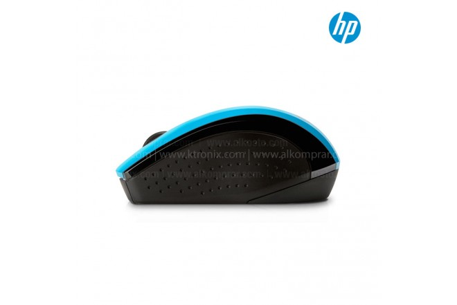 Mouse HP Inalambrico Optico X3000 Azul