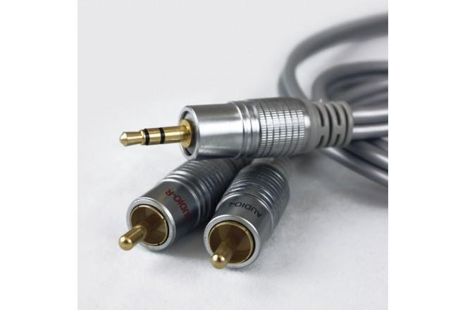 Cable de Audio STEREO 2 A 1 0.93M