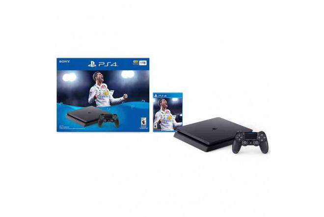 Consola PS4 1TB con Videojuego Fifa18-a