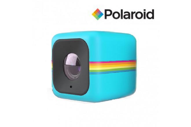 Camara de acción POLAROID Cube WIFI Azul