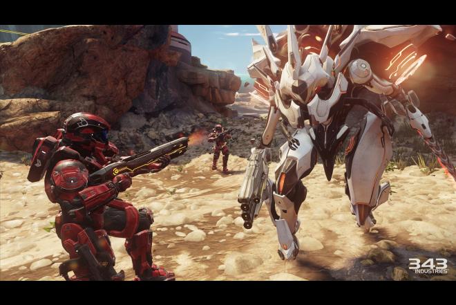 Consola XBOX ONE 1TB + Juego Halo 5: Guardians
