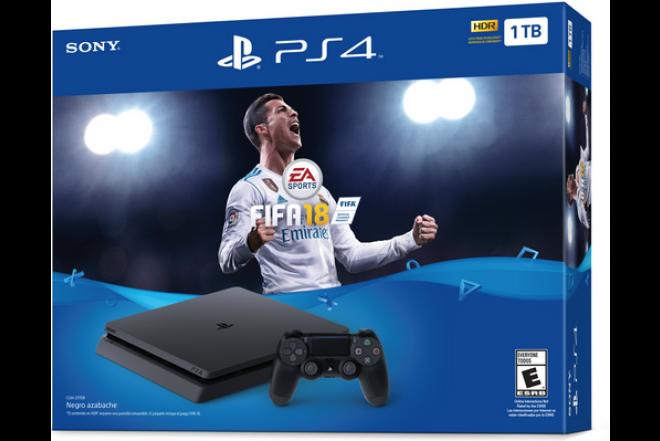 Consola PS4 1TB con Videojuego Fifa18-e