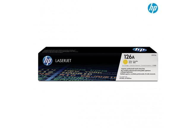 Toner HP 126A Amarillo LJ CE3
