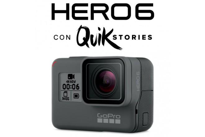 Cámara GOPRO Hero6 Black