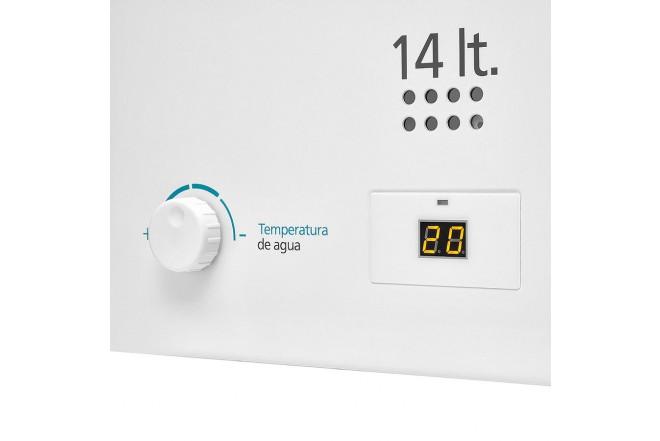 Calentador de Paso MABE de Tiro Forzado 14L CMD14TFBC Blanco 5