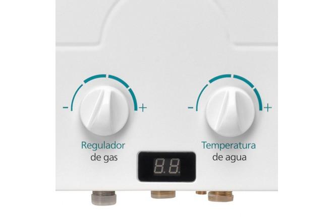 Calentador MABE de Tiro Forzado 6L CMD6TFBC Blanco