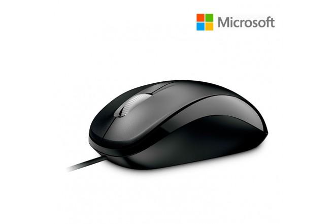 Mouse Alámbrico MICROSOFT Optical 500 Negro