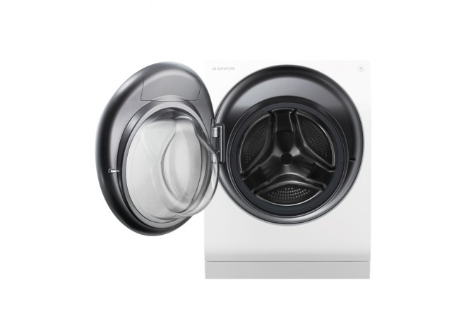 Combo Lavadora LG SIGNATURE WD12WTS6 + WD2100CW Blanco 4