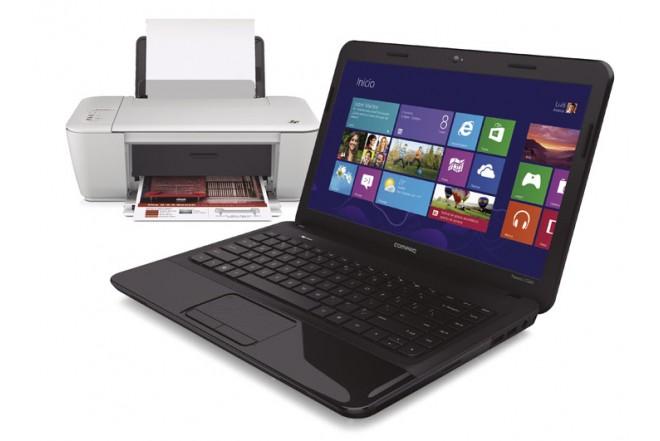Notebook COMPAQ CQ45-D01 + Multifuncional HP 1515