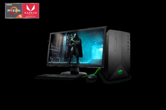 "Computador de Escritorio HP - 690-002bla - AMD Ryzen 5 - 24"" Pulgadas - Disco Duro 1Tb - Negro_1"