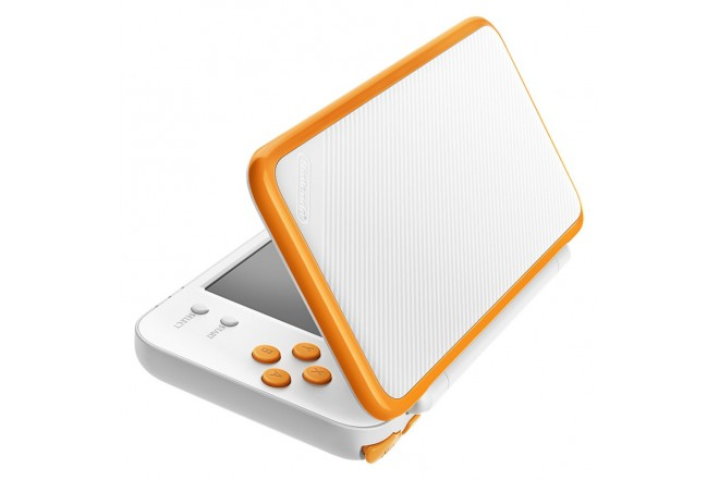 Consola 2DS XL White and Orange-d