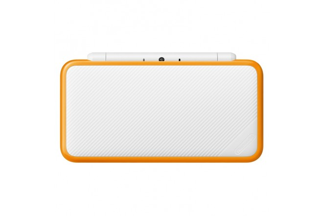 Consola 2DS XL White and Orange-c