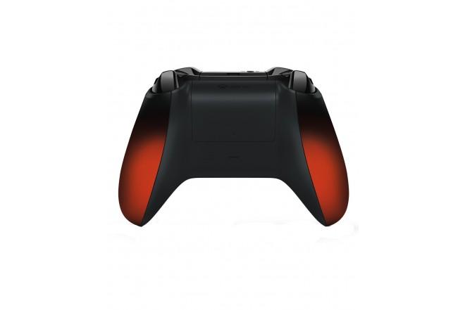 Control XBOX ONE Volcano Rojo y Negro-b