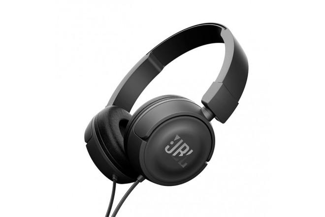 Audífonos JBL Alambrico OnEar ML T450 Negro